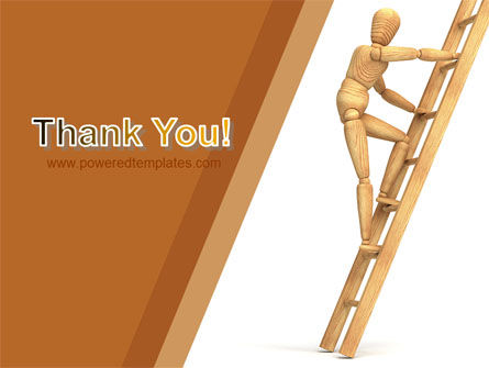 Climbing Up On the Ladder PowerPoint Template Slide 20