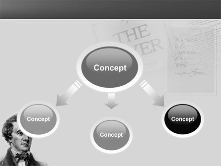 Henry David Thoreau PowerPoint Template Slide 4