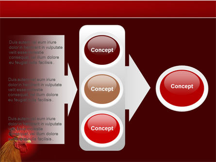 Rooster PowerPoint Template Slide 11