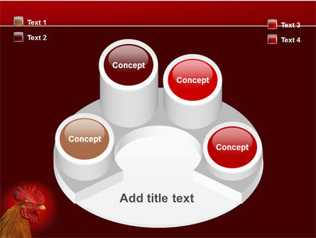 Rooster PowerPoint Template Slide 12
