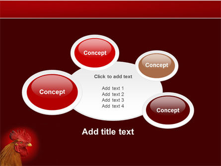 Rooster PowerPoint Template Slide 16