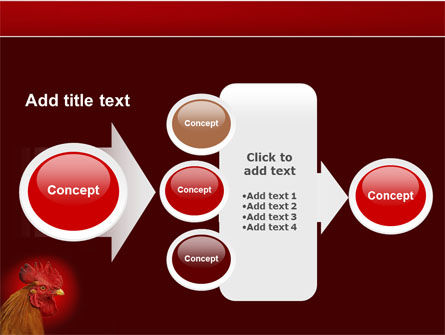 Rooster PowerPoint Template Slide 17