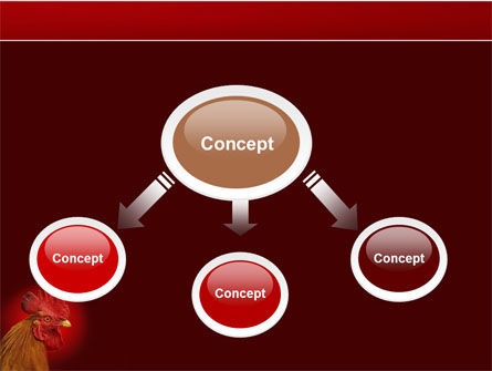 Rooster PowerPoint Template Slide 4