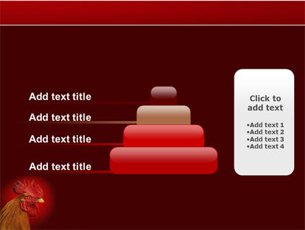 Rooster PowerPoint Template Slide 8