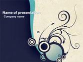 Abstract/Textures: Decoratieve Design PowerPoint Template #04938
