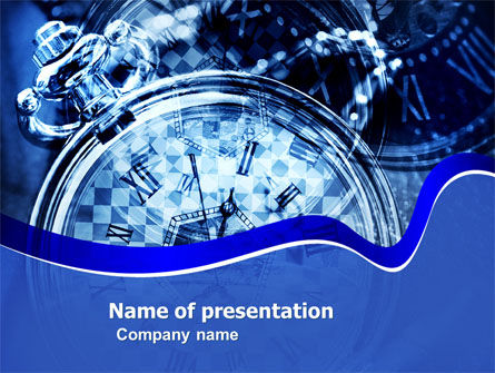 Magic Clock PowerPoint Template