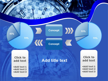 Magic Clock PowerPoint Template Slide 11