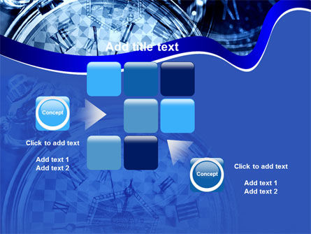 Magic Clock PowerPoint Template Slide 16