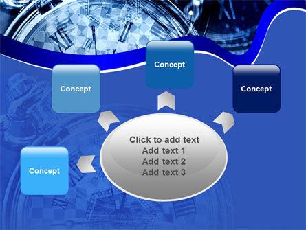 Magic Clock PowerPoint Template Slide 7