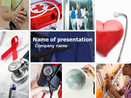 Medical: Medical Care PowerPoint Template #04941