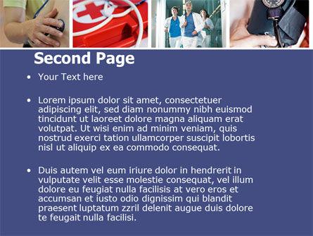 Medical Care PowerPoint Template, Slide 2, 04941, Medical — PoweredTemplate.com