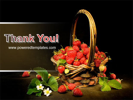 Strawberries PowerPoint Template Slide 20