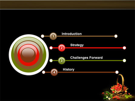 Strawberries PowerPoint Template Slide 3