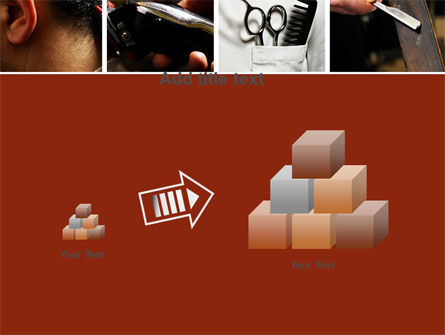 Barber PowerPoint Template Slide 13