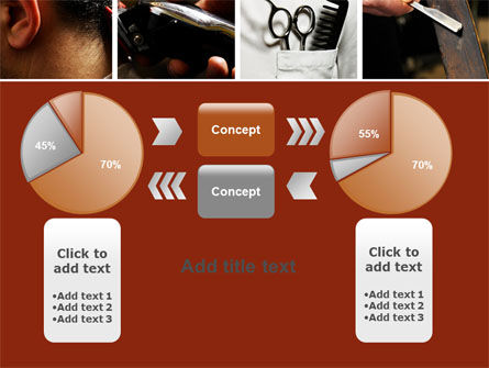 Barber PowerPoint Template Slide 16