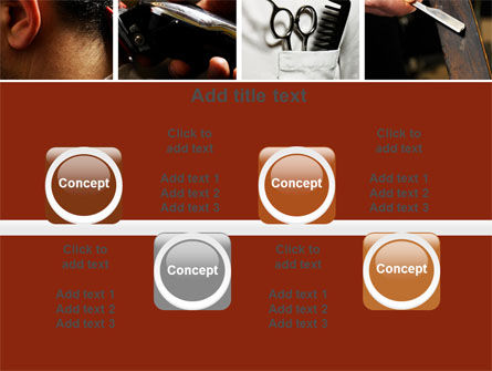 Barber PowerPoint Template Slide 18