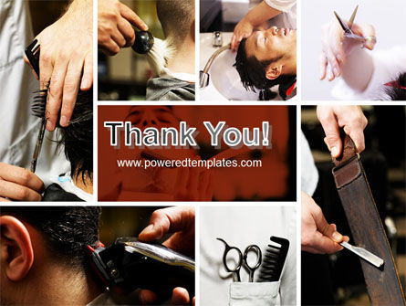 Barber PowerPoint Template Slide 20