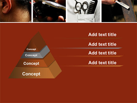 Barber PowerPoint Template, Slide 4, 04945, Careers/Industry — PoweredTemplate.com