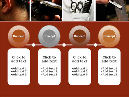 Barber PowerPoint Template Slide 5