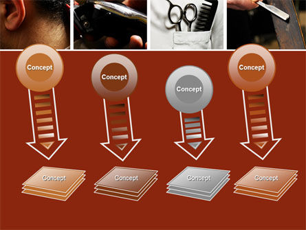 Barber PowerPoint Template Slide 8