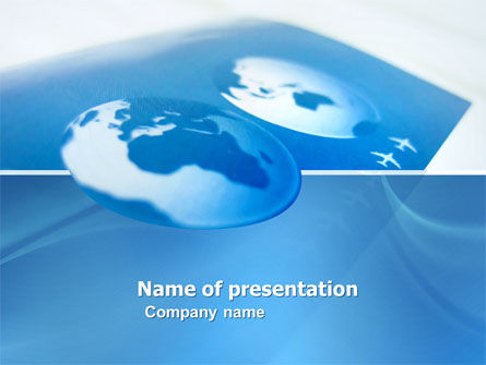 Air Transportation PowerPoint Template