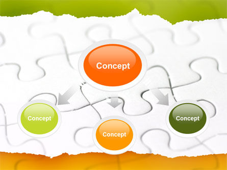 Puzzle Completed PowerPoint Template, Slide 4, 04949, Consulting — PoweredTemplate.com