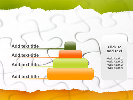 Puzzle Completed PowerPoint Template Slide 8