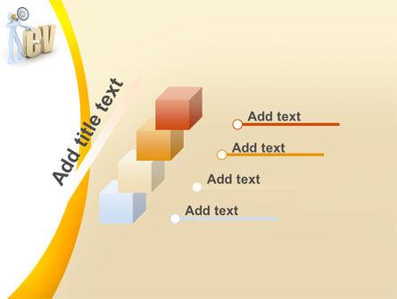 Curriculum Vitae PowerPoint Template Slide 14