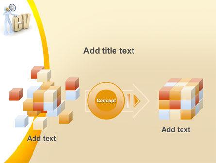Curriculum Vitae PowerPoint Template Slide 17