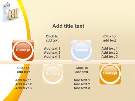 Curriculum Vitae PowerPoint Template Slide 18