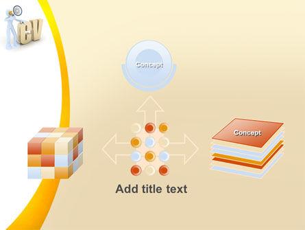 Curriculum Vitae PowerPoint Template Slide 19