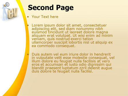 Curriculum Vitae PowerPoint Template Slide 2