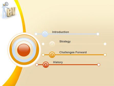 Curriculum Vitae PowerPoint Template Slide 3