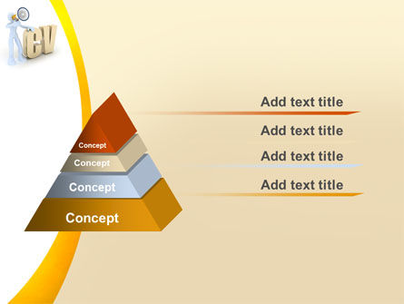 Curriculum Vitae PowerPoint Template, Slide 4, 04954, Careers/Industry — PoweredTemplate.com