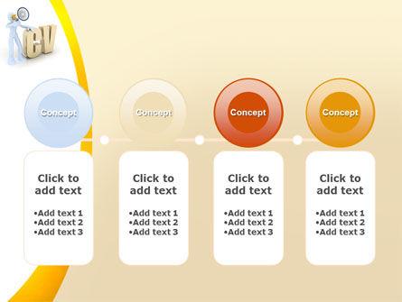 Curriculum Vitae PowerPoint Template Slide 5