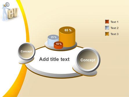 Curriculum Vitae PowerPoint Template Slide 6