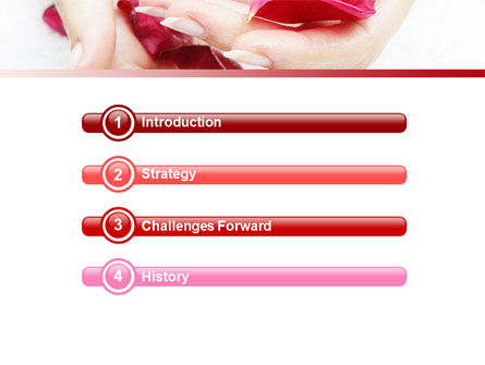 Scent Flower Petals PowerPoint Template, Slide 3, 04955, Health and Recreation — PoweredTemplate.com