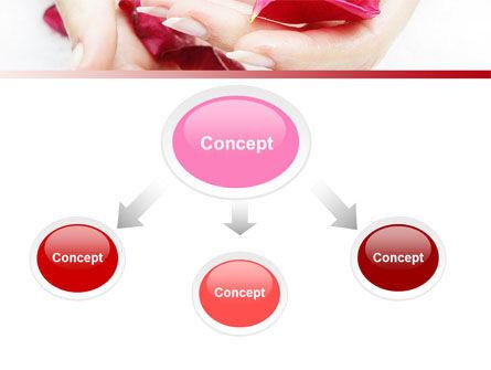 Scent Flower Petals PowerPoint Template, Slide 4, 04955, Health and Recreation — PoweredTemplate.com