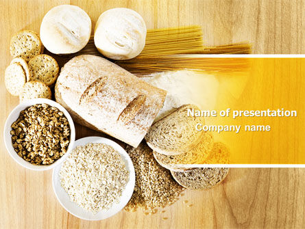 Food & Beverage: Staple Food PowerPoint Template #04956