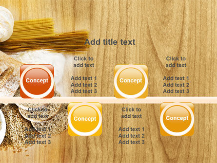 Staple Food PowerPoint Template Slide 18