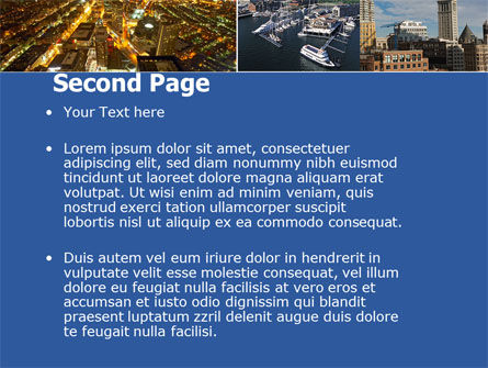 Boston PowerPoint Template Slide 2