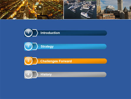 Boston PowerPoint Template, Slide 3, 04957, Construction — PoweredTemplate.com
