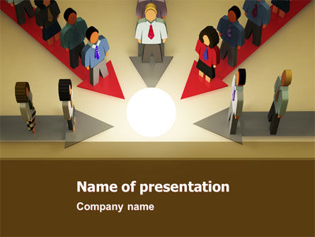 Common Cause PowerPoint Template, 04964, Business Concepts — PoweredTemplate.com