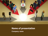 Business Concepts: Plantilla de PowerPoint - causa común #04964