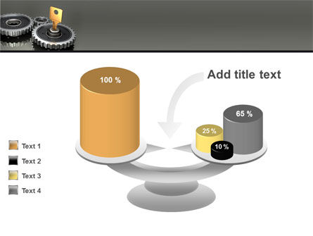Key To Lock Mechanism PowerPoint Template Slide 10