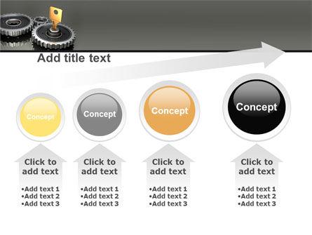 Key To Lock Mechanism PowerPoint Template Slide 13
