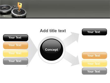 Key To Lock Mechanism PowerPoint Template Slide 14