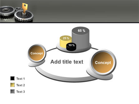 Key To Lock Mechanism PowerPoint Template Slide 16