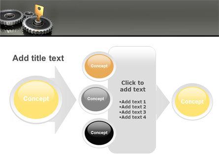 Key To Lock Mechanism PowerPoint Template Slide 17
