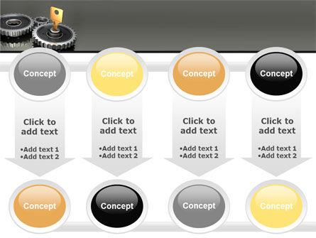 Key To Lock Mechanism PowerPoint Template Slide 18